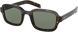 Prada PR11XSF 2AU728 Tortoise PR11XSF Rectangle Sunglasses Lens Category 3 Size
