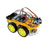 TBS 2654 - Kit Completo Car Smart Robot Arduino con detectores de Obstáculos y Bluetooth - Tarjeta UNO Atmega-328 - DYI - Guía del Usuario con Proyectos de Construcción y Fotos