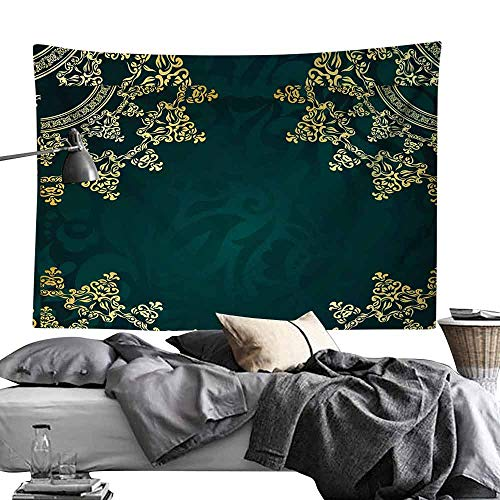 gygygys Tapestry Wall Ribbon with Snowflakes, Paper Textured Background,W90 xL60 Dorm Decor