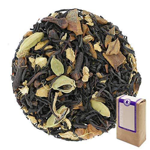 Núm. 1206: Té negro orgánico 'Chai Negro' - hojas sueltas ecológico - 100 g - GAIWAN® GERMANY - cassia, té negro de la India, cardamomo, pimienta negra, jengibre, clavel