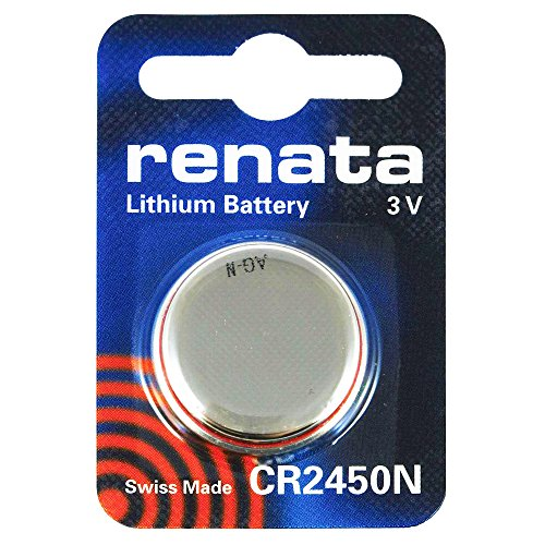 2pilas Renata para reloj de pulsera, fabricación suiza, de dióxido de plata, sin mercurio, 1,55 V, larga vida útil