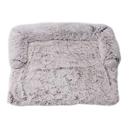 bozitian Hundebett Couch für Sofaschutz Hund und Kofferraumschutz, Flauschige Hundedecke, Hundedecke Haustier Super Softe Warme und Weiche Flauschig Fleece für Hundebett Sofa und Couch
