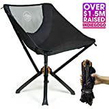 Cliq Camping Chair - Most Funded Portable Chair in Crowdfunding History. | Bottle Sized Compact Outdoor Chair | Sets up in 5 Seconds | Supports 300 lbs | Aircraft Grade Aluminum