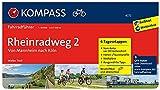 KOMPASS Fahrradführer Rheinradweg 2, Von Mannheim nach Köln: Fahrradführer mit Stadtplänen und GPX-Daten zum Download.