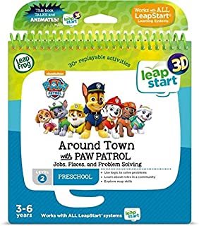 Leapstart Preschool: Around Town with Paw Patrol Activity Book (3D Enhanced)