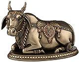 "Veronese Design Nandi The Gatekeeper of Shiva and Parvati Statue Sculpture 4.9"" Tall"