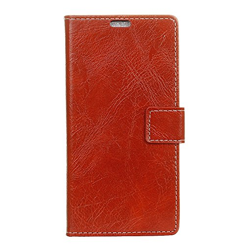 fancartuk Kompatibel mit BlackBerry Aurora Hülle Leder, PU Brieftasche etui Schutzhülle Tasche Slim Flip Case Cover mit Magnetverschluss für BlackBerry Aurora (Rot)