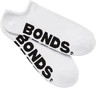 Bonds Men's Logo No Show Sport Socks