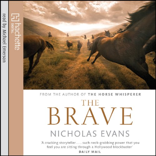 The Brave audiobook cover art