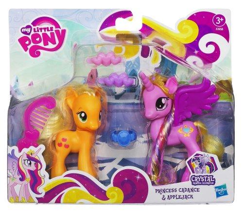My Little Pony - A2658E240 - Poupée - Poney et Princesse - Crystal Princess Cadance Applejac