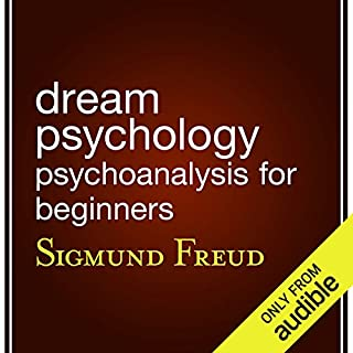 Dream Psychology audiobook cover art