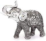 Estatua de elefante exótico para decoración del hogar, spa o salón de belleza