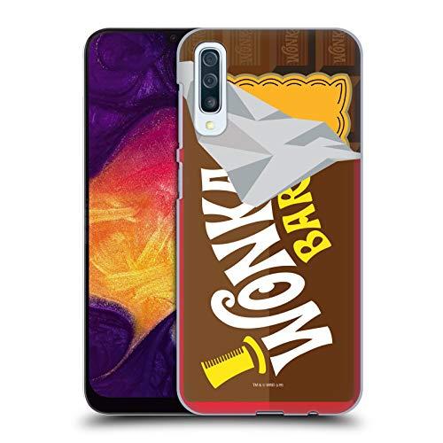 Head Case Designs Offizielle Willy Wonka and The Chocolate Factory Suessigkeiten Bar Grafiken Harte Rueckseiten Huelle kompatibel mit Samsung Galaxy A50/A30s (2019)