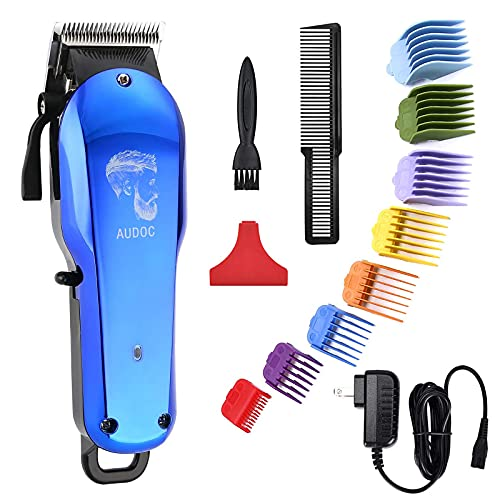 Professional Cordless Hair Clippers for Men Hair Haircuttings Kit Mustache Body Grooming Kit Rechargeable Hair Trimmer for Men Stylists Barbers Kids Home