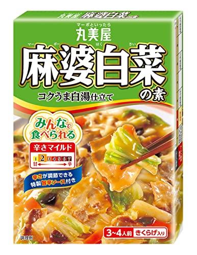 丸美屋食品工業 麻婆白菜の素 箱入 130g×10個