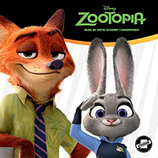 Zootopia audiobook cover art