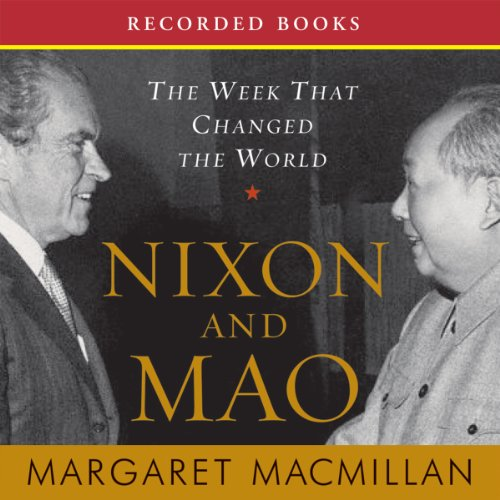 Nixon and Mao     The Week That Changed the World              Auteur(s):                                                                                                                                 Margaret MacMillan                               Narrateur(s):                                                                                                                                 Barbara Caruso                      Durée: 15 h et 18 min     2 évaluations     Au global 4,0