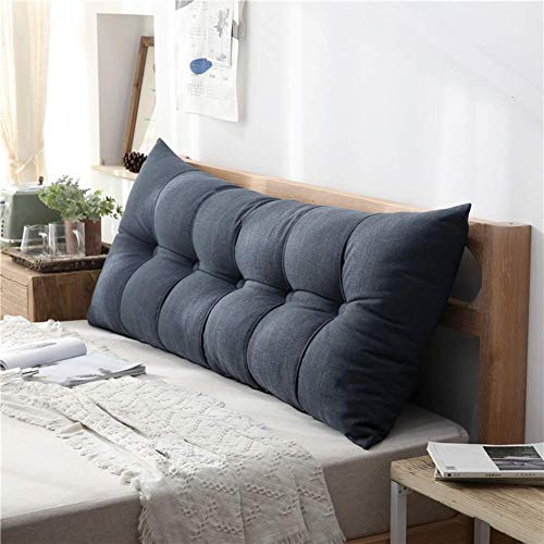 Sofa rugkussen, nachthoofdkussen, bekleding wig grote driehoekige kussens sofa map kunstdecoratie 60 x 20 x 60 cm H