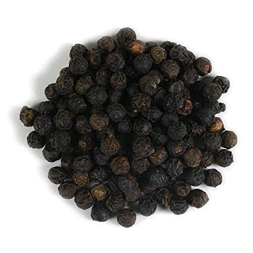 Frontier Co-op Peppercorns, Black Whole, Tellicherry, Certified Organic, Kosher, Non-irradiated   1 lb. Bulk Bag   Piper nigrum