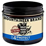 Mountaineer Brand Bald Head Care - Protect - Men's All Natural Moisturizing Balm Daily Moisturizer 2 oz.