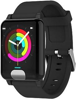 Amazon.com: Star_wuvi ECG+PPG Smart Watch Wristband Band ...