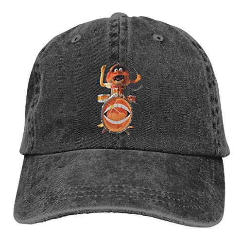 Unisex Animal Muppets Drummer Gaga Popular Sombrero de Vaquero de Mezclilla Ajustable para Adultos Casquette