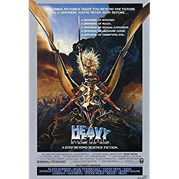 Amazon Com Heavy Metal Poster Movie 27 X 40 Inches 69cm X 102cm 1981 Style D Posters Prints