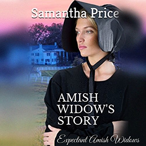 Amish Widow's Story audiobook cover art