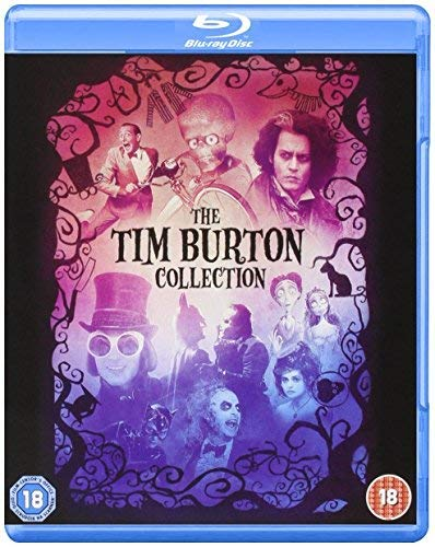 Tim Burton Collection - 8-Disc Box Set ( Batman / Batman Returns / Beetlejuice / Mars Attacks! / Pee-wee's Big Adventure / Charlie and the Chocolate Factory / Sweeney Todd: The Demon Barber (Blu-Ray)
