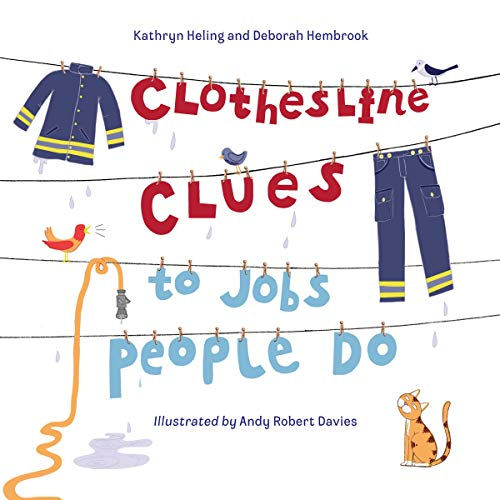 Clothesline Clues to Jobs People Do audiobook cover art