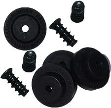 Easycargo Fan Anti Vibration Pads, Fan Damper for Noise Reduction, Silicone Damper for Low Noise Fan 40mm, 50mm (Black 16-Pack)