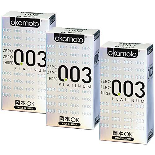 Okamoto 003 Platinum Kondome - 30 Stück - GUINNESS WORLD RECORD HOLDER ALS DÜNNSTES LATEX-KONDOM