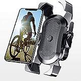 Saimly Soporte Universal para teléfono móvil para Bicicleta de 3,5 a 6,5 Pulgadas, Giratorio 360º