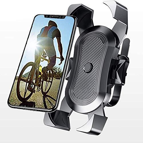 Saimly Cykel mobilhållare universell motorcykel mobiltelefonhållare för 3,5–6,5 tums smartphone med 360° roterbar, S150