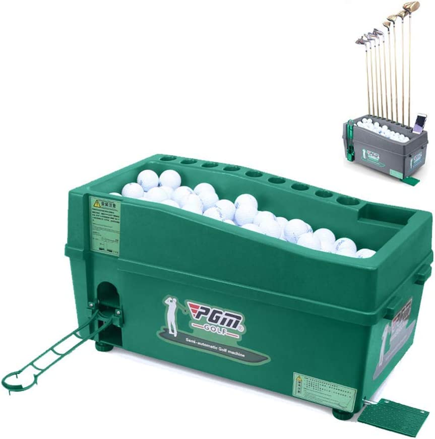 MTPLUM Automatic Golf Ball Cash special price Dispenser Po Capacity 100 Large Quantity limited Balls