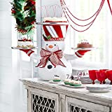 Christmas Snowman Treats Holder - Christmas Snowman Snack Bowl, Snack Bowl Stand Christmas Creative Dessert Salad Candy Holder Fruit Plates Party Favor Supplies