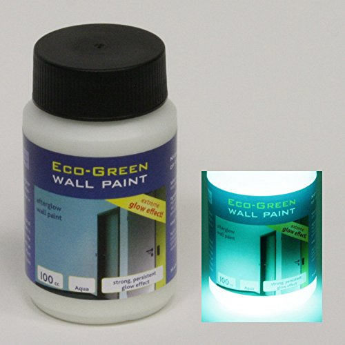 NighTec Eco-Green Wall Paint - 100 cc of our strongest glow in the dark paint