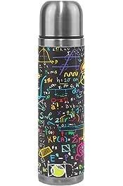 Taza de Viaje con Doble Aislamiento Wocute Taza de Termo con Pantalla T/áctil Inteligente 500L Taza de Caf/é con Taza de Vac/ío de Acero Inoxidable Termo Rosado