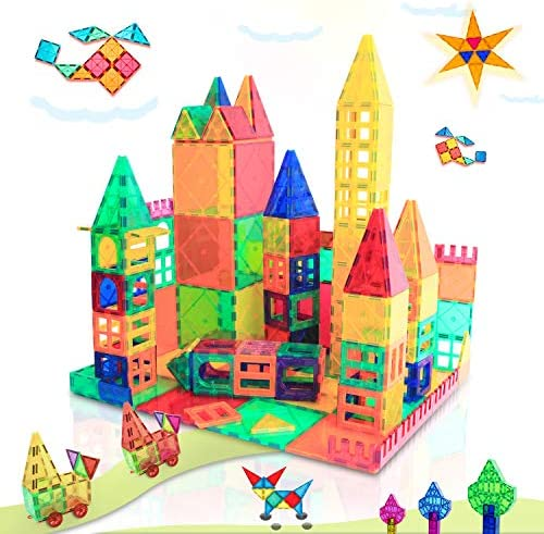 Magnet Toys for 3 Year Old Boys and Girls Magnetic Blocks Building Tiles STEM Learning Toys product image
