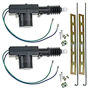 InstallGear Universal Car Power Door Lock Actuators 12-Volt Motor  2 Pack