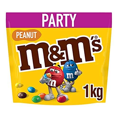M&M'S Cacahuète Sac de 1 kg 1 x 1 kg Beutel