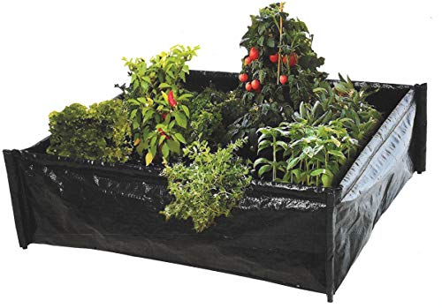 Raised Flower Bed Garden Raised Vegetable Patch Large Pl