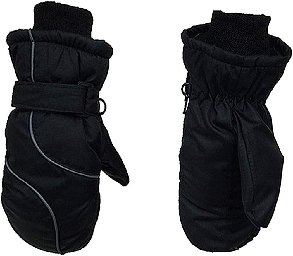 ZHANGSHOP Kids Cold Weather Winter Snow&Ski GlovesThinsulate Waterproof Cold Weather Youth Gloves for Skiing,Snowboarding-Fits Boys and Girls