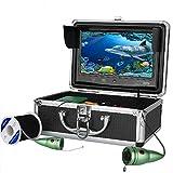 HBHYQ 1000tvl Pesca Subacquea videocamera Kit 6 luci di PCS LED Bianco con 9 Pollici Monitor a Colori,10m