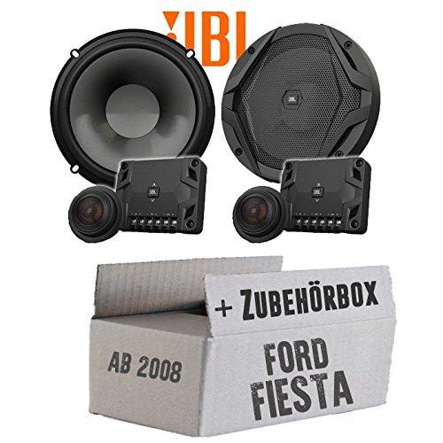 JBL GX600C   2-Wege   16cm Lautsprecher System - Einbauset für Ford Fiesta MK7 Front Heck - JUST SOUND best choice for caraudio