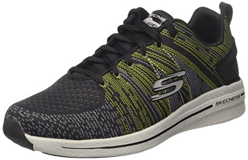 Skechers Burst 2.0-IN the MIX II, Zapatillas para Hombre, Negro (BKLM), 41 EU