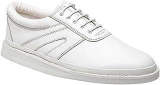 Dek - Zapatos de Cordones de Cuero para Hombre Blanco Blanco