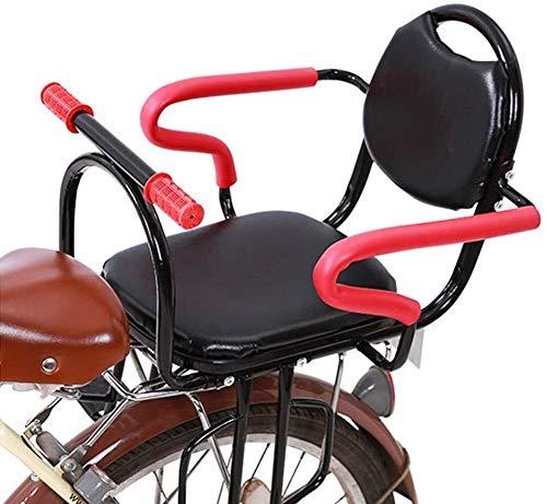 Fiets kinderzitje Fiets kinderzitjes Achter de baby autostoeltje grote ruimte met Seat Belt Geschikt for elektrische fiets Mountain Bike, Maat: Standaard, Kleur: Pink veiligheidszitjes
