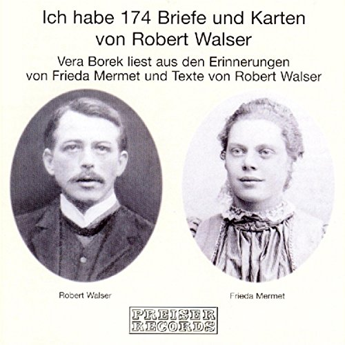 Ich habe 174 Briefe und Karten von Robert Walser Titelbild