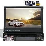 Free Reverse Kamera Wince 6.0 Universalkopf unit1 din Autoradio-Stereo GPS Navi DVD Player 7.0 '' Dash Unterst¡§1tzung GPS/Navi/USB/SD/Subwoofer/Bluetooth/Lenkrad-Steuerfunktion/FM /